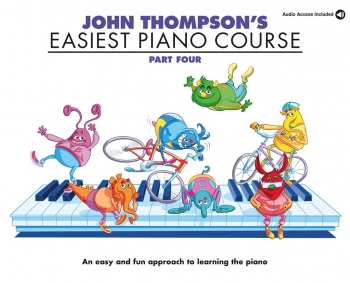John Thompson's Easiest Piano Course: Part 4 Book & Cd