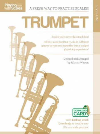Playing With Scales: Trumpet Level 1 (Book/Download