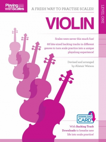 Playing With Scales: Violin Level 1 (Book/Download)