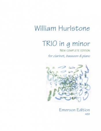 Trio: G Minor: Clarinet Bassoon & Piano