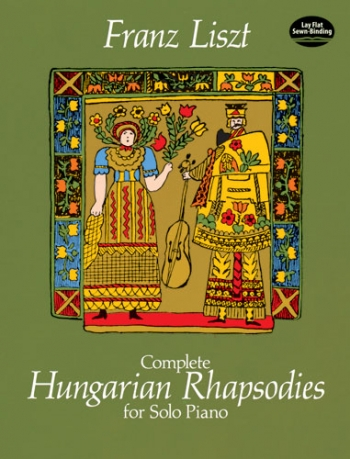 Complete Hungarian Rhapsodies For Piano Solo