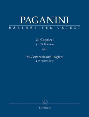 24 Capricci: Violin Solo  (Barenreiter)