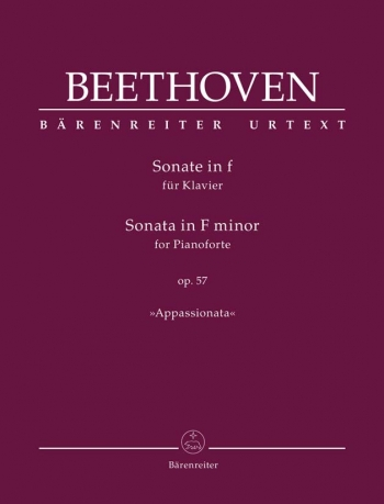 Sonata: F Minor: Op57: Piano  (Barenreiter)