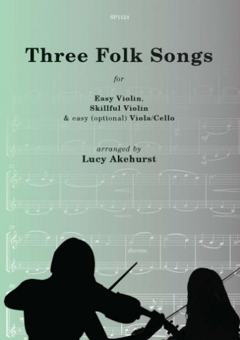 Three Folk Songs: 2 Violins & Viola/Cello
