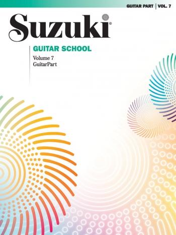 Suzuki Guitar School Vol 7 Guitar Part