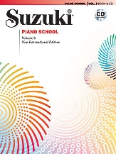 Suzuki Piano School Vol.3 Piano (Revised) Book & Cd (Revised)