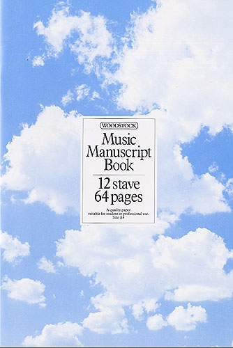 Manuscript - 12 Stave - 64 Page - Woodstock