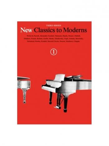New Classics To Moderns: Book 1: Piano Solo