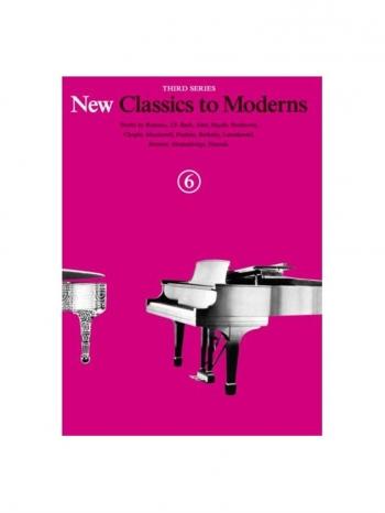 New Classics To Moderns: Book 6: Piano Solo
