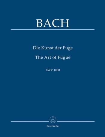 Art Of The Fugue: Study Score (Barenreiter)