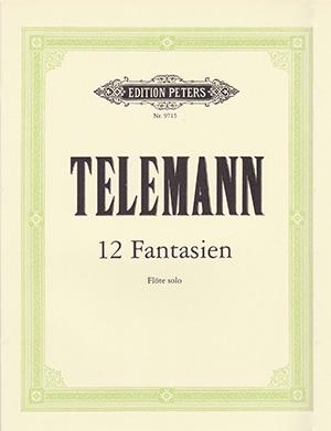 12 Fantasias: Flute: Studies (Peters)