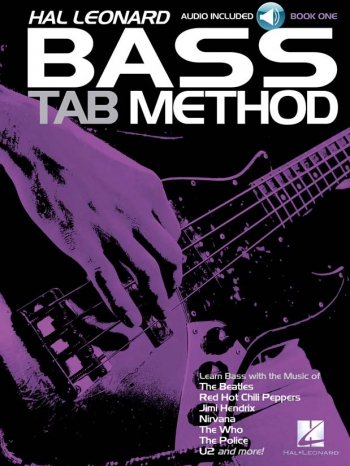 Hal Leonard: 1: Bass Tab Guitar Method: Book And CD
