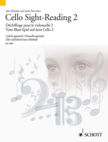 Sight-Reading: Book 2: Cello (John Kember)