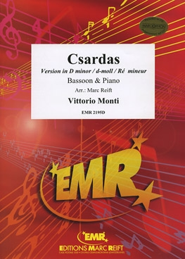 Csardas: Version In D Minor: Bassoon & Piano