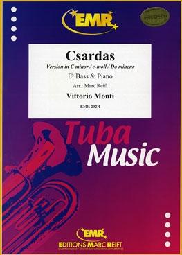 Csardas: Version C Minor: Eb Tuba & Piano
