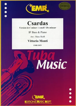 Csardas: Version C Minor: Bb Tuba & Piano