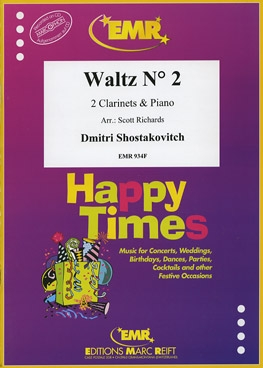 Waltz No 2: Clarinet Duet & Piano