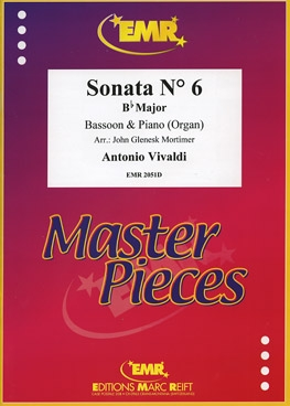 Sonata No 6 In Bb Major: Bassoon & Piano