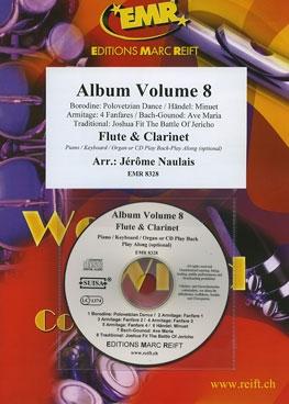 Album Volume 8: Flute & Clarinet With CD