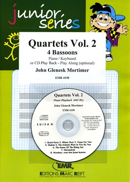 Quartets Volume 2: 4 Bassoons With CD