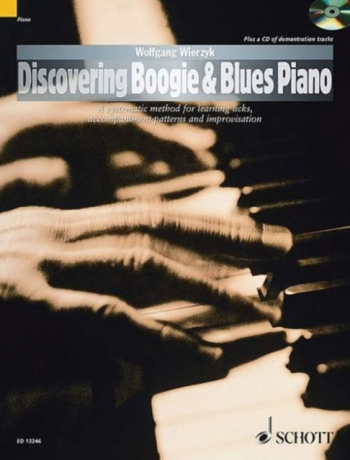 Discovering Boogie & Blues Piano A Systematic Method For Learning Licks, Accompanimen Bk&cd (Wierzk)