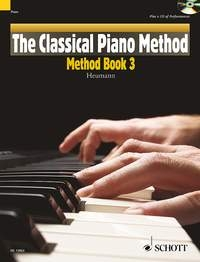 The Classical Piano Method: Method Book 3: Book And Cd