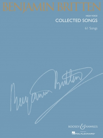 Collected Songs: 63 Songs: High Voice & Piano