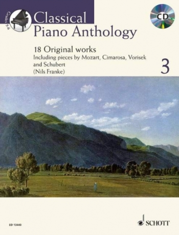 Classical Piano Anthology: Vol 3 18 Original Works: Piano: Bk&cd  (Franke)