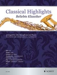 Classical Highlights Arr For Alto Saxophone& Piano