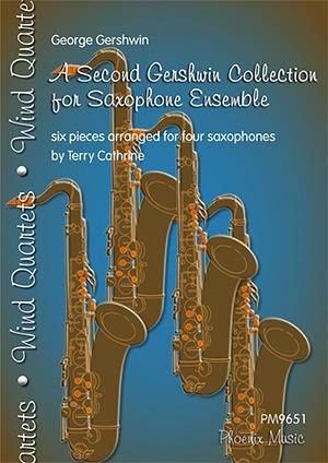A Second Gershwin Collection For Saxophones Ensemble: 6 Pieces For Four Saxophones