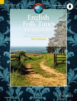 English Folk Tunes: 62 Traditional Pieces: Descant Recorder