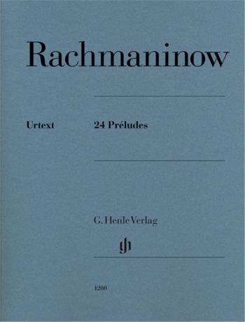 24 Preludes: Piano  (Henle)