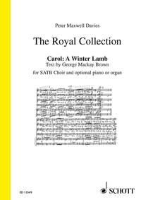 Carol: A Winter Lamb: Vocal: SATB (The Royal Collection)
