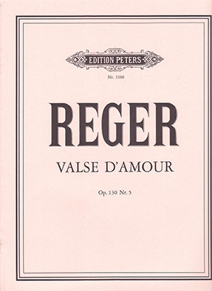 Valse D'Amour: Op. 130 No. 5: Piano (Peters)