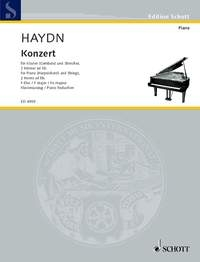 Concerto In F Major Hob. XVIII: 3: Piano Reduction For 2 Pianos  (Schott)