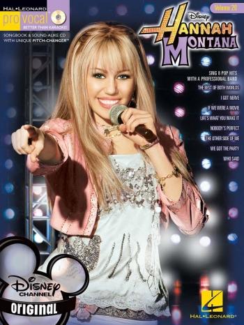 Pro Vocal Volume 20: Hannah Montana: Female Edition