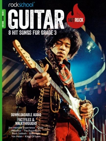 Rockschool: Hot Rock Guitar - Grade 3 (Book/Download Card)