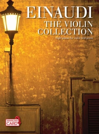 Einaudi The Violin Collection: Book & Download Card (accompaniment-only Backing Tracks.)