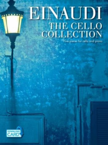 Einaudi The Cello Collection: Book & Download Card (accompaniment-only Backing Tracks.)