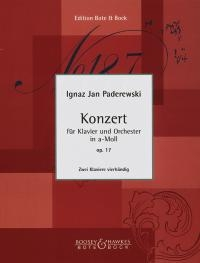 Concerto In A Minor, Op. 17: Piano Reduction For 2 Pianos
