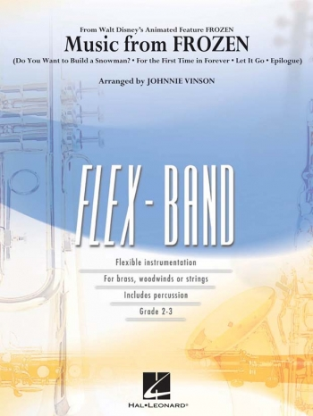 Frozen: Flex Band: Score And Parts  (Sweeney)