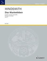 Das Marienleben, Op. 27: Soprano And Piano - German