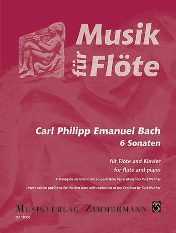 6 Sonatas Flute (Zimmerman)