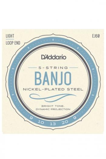 Banjo 5-string Set EJ60 By D'Addario