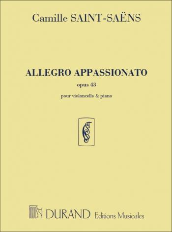 Allegro Appassionato: Op43: Cello (Durand)