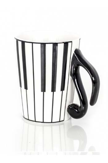 Mug And Lid - Keyboard