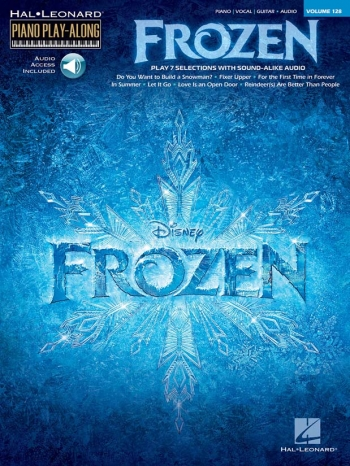 Frozen: Piano Play Along: Vol 128: Book & Download
