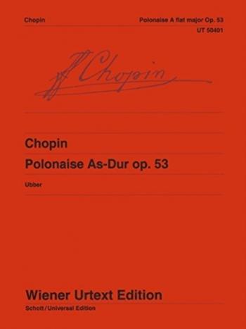 Polonaise Op.53 Ab Major: Piano (Wiener Urtext)