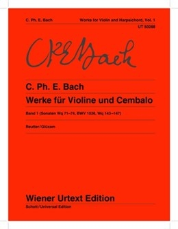 Works For Violin & Harpsichord Vol,1 (Wiener Urtext)