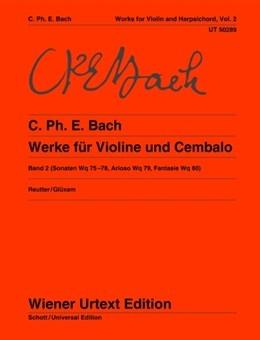 Works For Violin & Harpsichord Vol,2 (Wiener Urtext)